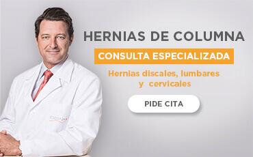 CONSULTA ESPECIALIZADA HERNIAS DE COLUMNA